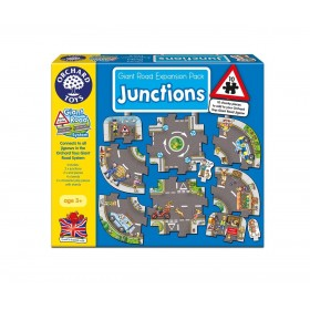 Puzzle podea Intersectii - Giant Road Expansion Pack Junction - Orchard Toys