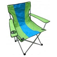 Scaun mare pliabil, pentru gradina, terasa, plaja, camping, pescuit - verde