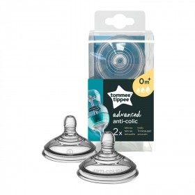 Set 2 tetine anticolici Advanced Tommee Tippee - flux variabil