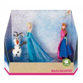 Set 3 figurine Frozen - Elsa, Anna si Olaf - Bullyland