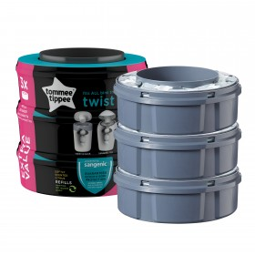 Set 3 rezerve Twist and Click Tommee Tippee