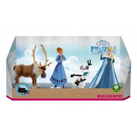 Set 4 figurine - Olafs Frozen Adventure - Bullyland