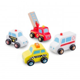 Set 4 vehicule - New Classic Toys