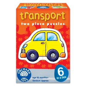 Set 6 puzzle Transport (2 piese) - Orchard Toys