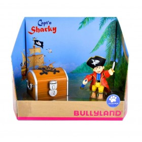 Set Capitanul Sharky si Cufarul Comorilor - Bullyland