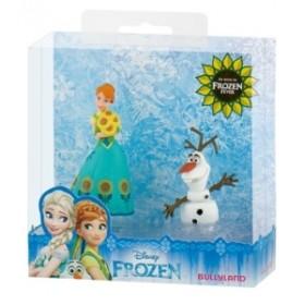 Set Frozen Fever Anna si Olaf - Bullyland
