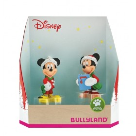 Set Minnie si Mickey Craciun - Bullyland