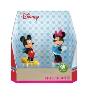 Set Minnie si Mickey - Sf Valentin - Bullyland