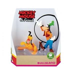 Set Pluto si Goofy - Bullyland