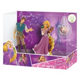 Set Rapunzel si Flynn Rider cu medalion - Bullyland