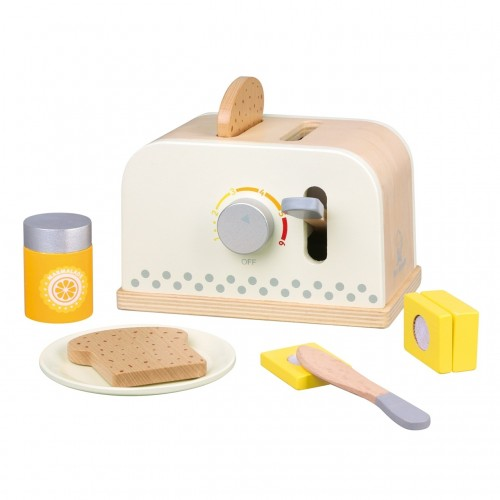Set Toaster - Alb - New Classic Toys