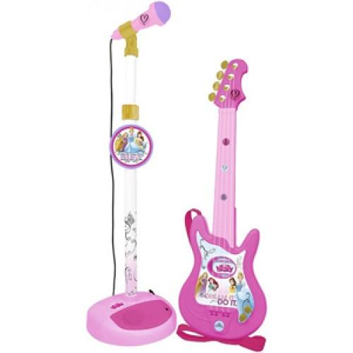 Set chitara si microfon printese Disney - Reig Musicales