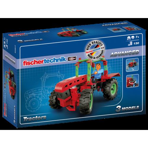 Set constructie ADVANCED Tractors - 3 modele