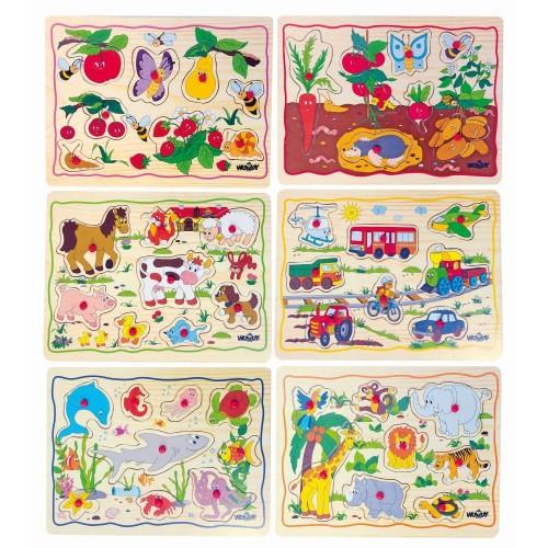 Set cu 6 puzzle-uri Woody