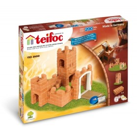 Set de constructie - Castel - 200 piese