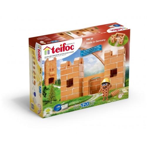 Set de constructie - Castel mic - 120 piese