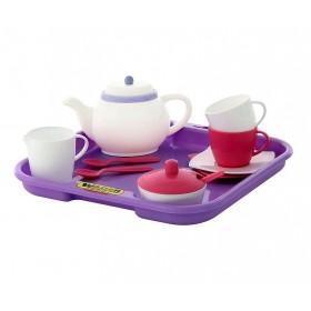 Set de servit ceaiul cu tavita - 2 persoane - Polesie Wader