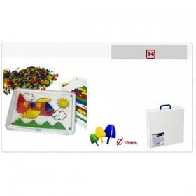 Set didactic mozaic 10 mm pentru 6 copii