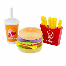 Set din lemn - Fast Food - New Classic Toys