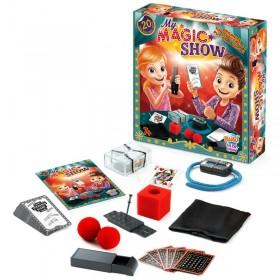 Set magie - Spectacolul meu de magie - 20 trucuri - Buki