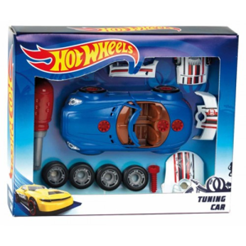 Set masina cu accesorii tuning Hot Wheels - Klein