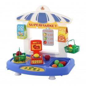 Set supermarket cu accesorii - Polesie Wader