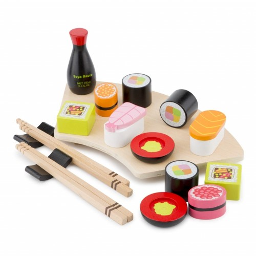 Set sushi - jucarie din lemn - New Classic Toys