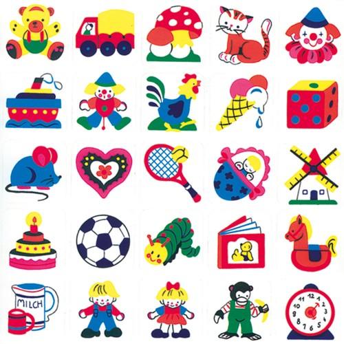 Stickere decorative pentru copii 4 - Bino
