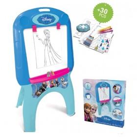 Tabla cu picioare si accesorii creative 30 piese Disney Frozen - D`Arpeje