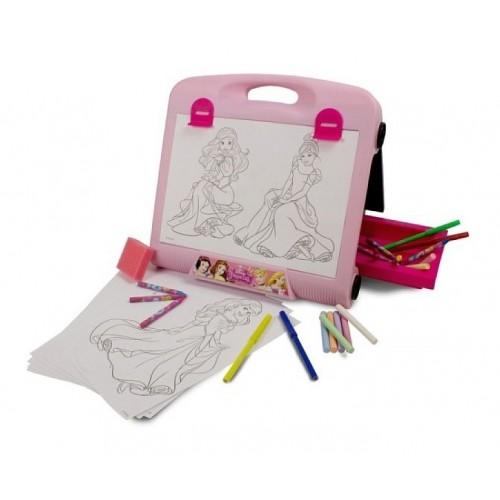 Tablita 2 in 1 cu 20 accesorii creative Disney Princess - D`Arpeje