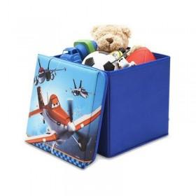 Taburet şi cutie depozitare jucării Disney Planes
