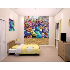 Tapet pentru Copii Monsters University - Walltastic