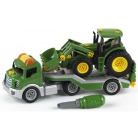 Trailer cu tractor John Deere - Klein