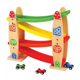 Traseu pentru masinute Lelin - New Classic Toys