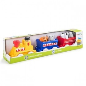 Trenul de Circ cu animalute - Maxi - Viking Toys