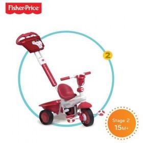 Tricicleta 3 in 1 Royal Rosu - Fisher-Price