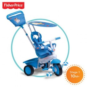 Tricicleta 3 in 1 Elite Albastra - Fisher-Price