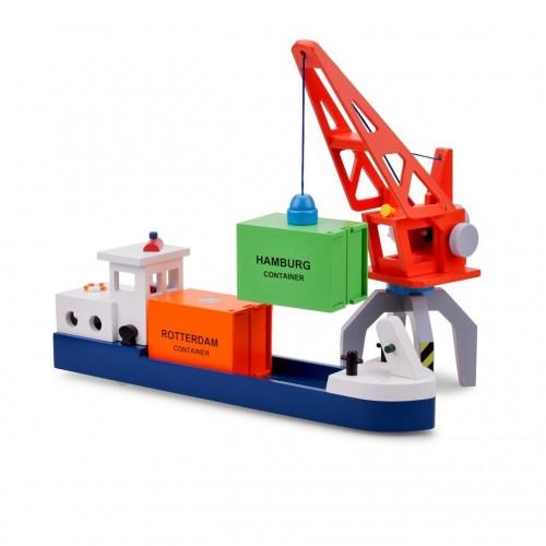 Vas cu 2 containere - New Classic Toys