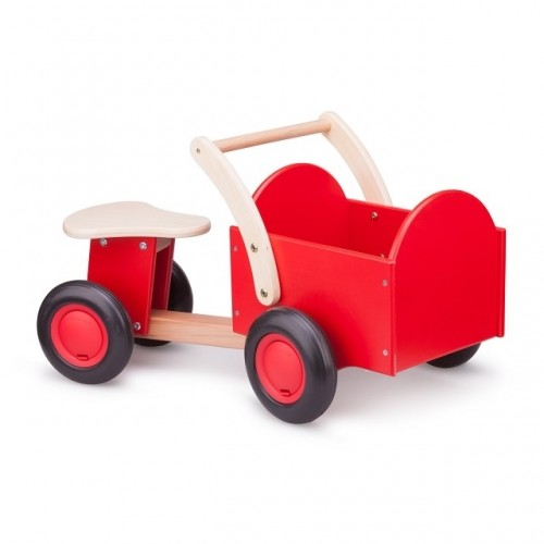 Vehicul lemn cu portbagaj - New Classic Toys