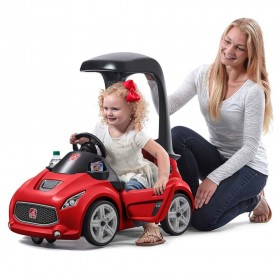 Vehicul rosu Turbo Coupe Foot-to-Floor - Step2