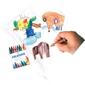 Zmeu mare pentru desenat 65 x 65 cm, creioane incluse - Rhombus