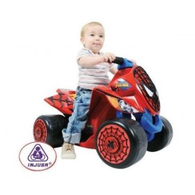 ATV copii Wind Spiderman Sense 6V