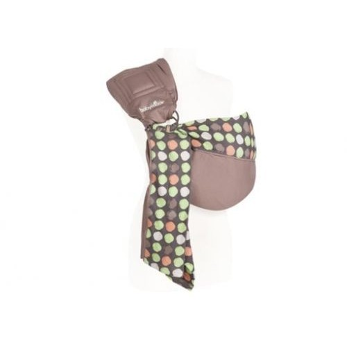 Baby ring sling almond/taupe