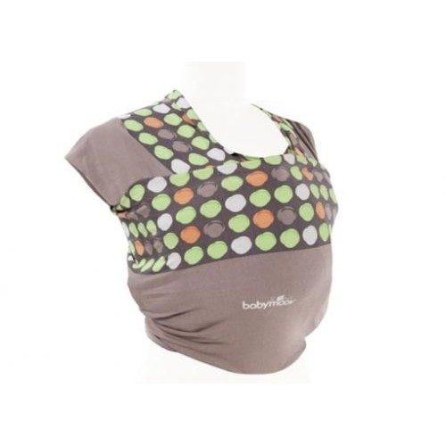 Baby wrap almond/taupe