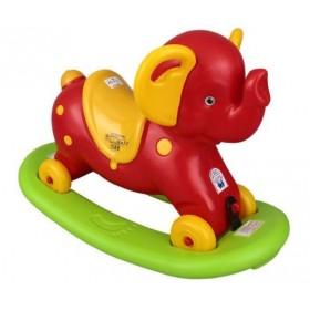 Balansoar elefant cu roti