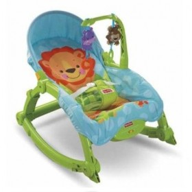 Balansoar Fisher Price 2 in 1 Deluxe Precious Planet