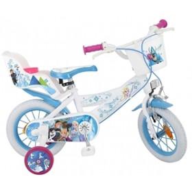 """Bicicleta 12"""" Frozen - fete - Toimsa"""