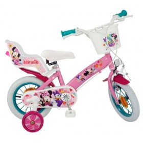 "Bicicleta 12"" Minnie Mouse Club House - fete - Toimsa"