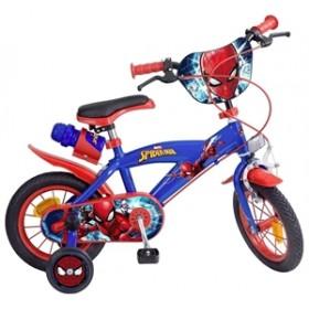 Bicicleta 12'' Spiderman - baieti - Toimsa