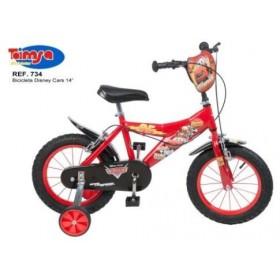 Bicicleta 14 Cars - baieti - Toimsa